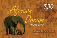 African Dream $30